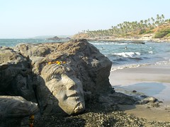 Shiva Rock, Vagator Beach