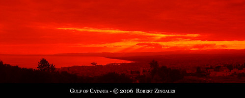 Gulf of Catania , Sicily