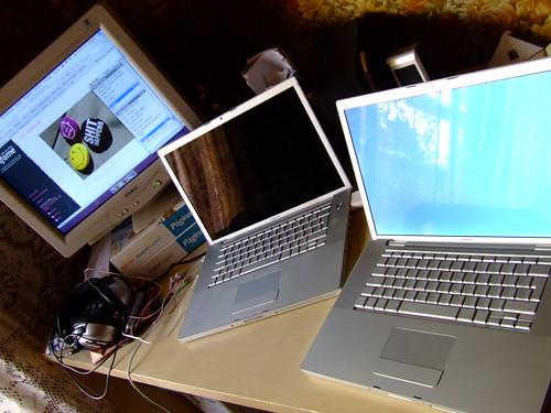 Mis dos MacBooks Pro