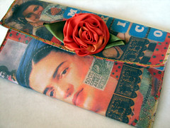 Frida and Her Friends (lorimarsha) Tags: handmade etsy lorimarsha frida kahlo handbag purse lori recycled fashion deconstructed diy oneoff art color handbags bags purses ooak accessories refindgoods red lms reciclar accesorios crear energia inspiracion mente nuevasideas