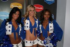 Dallas Cowboy Cheerleaders @ Jay-Z's 40/40 Club, NYC (Becca Gambel, Andrea Richards & D. Nicole Hamilton) (Hardcore Shutterbug) Tags: nyc club becca nicole dallas football cowboy cheerleaders d andrea hamilton hardcore jayz richards messina shutterbug gambel 4040