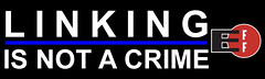 LINKING IS NOT A CRIME.