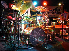 Danny Carey's Set (speric) Tags: drums clinic tool dannycarey samash