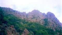 L'aiguille SE 1049 m du Capu a u Monte depuis Bocca a Pertusella