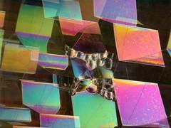 and more bubbles (.Leili) Tags: cambridge sculpture geometric colors catchycolors geotagged us rainbow colorful university mit massachusetts experiment newengland bubbles math physics mathematics iridescent glimmer sculptor algorithm massachusettsinstituteoftechnology leilitowfigh soapfilmbubbles jamesossi 1999sonydscp1
