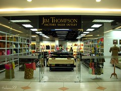 Jim Thompson Outlet Shop in Pattaya, Thailand