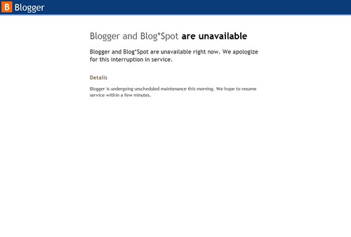 blogger-currently-unavailable
