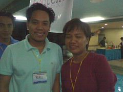 poell with Malou Mangahas, Editor in Chief of iGMATV