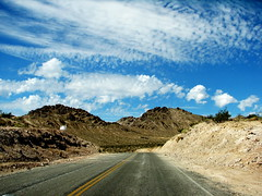 Cali Road (Vlastula) Tags: california road ca sky usa mountain rock america us nationalpark unitedstates roadtrip deathvalley np supershot explored