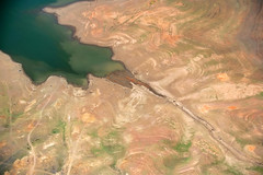 Burrendong Dam 1 (Mark Merton) Tags: water dam aerial drought nsw western