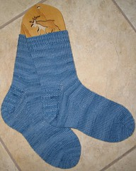 Blue Monday Socks