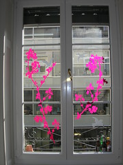 French Decals for kitchen window - by pug freak