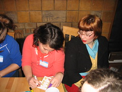 IMG_7579.JPG (monsterpants) Tags: birthday red party orange colour yellow birthdayparty kristen bangs turquois synaesthesia truecolours colourparty birthday2007 synaesthesiaparty