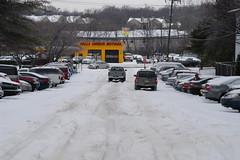 Big snowy hill