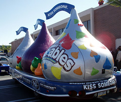 Hersheys Kissmobile