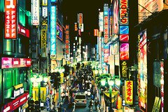 Shinjuku nights (manganite) Tags: city light people streets men topf25 colors japan night digital buildings geotagged asian japanese tokyo interestingness topf50 nikon women topf75 shinjuku colorful asia neon tl sold crowd streetscene explore shops getty d200 nikkor dslr topf150 deviantart topf100 topf200 gettyimages crowded sold2 interestingness6 topf1000 fav100 fav200 fav300 topf800 i500 topf900 18200mmf3556 utatafeature manganite cy2 nikonstunninggallery ipernity challengeyou challengeyouwinner abigfave 200750plusfaves travelerphotos geo:lat=35689583 geo:lon=139702095 date:year=2006 fav500 fav1000 fav400 date:month=august date:day=28 fav600 fav700 fav800 fav900 fav1100 fav1200 fav1300
