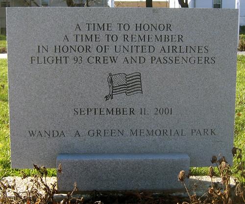 Linden 9/11 Memorial - United Airlines Flight 93 Memorial