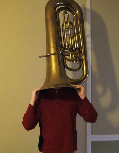 Sometimes I prefer to wear my tuba!