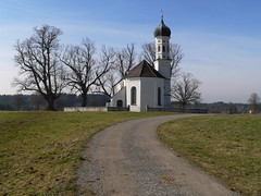 Sankt Andreas zu Etting (oefe) Tags: church kirche chapel andreas kapelle blueribbonwinner interestingness282 standreas i500 etting explore19february2007