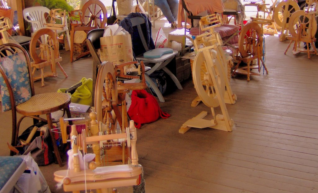 Spinning Workshop Taught by Celia Quinn
