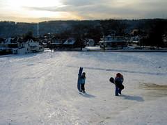 sledding afternoon