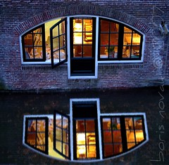 The Dutch Way (The Challenge) Tags: light reflection home water netherlands night living bravo utrecht nederland explore boris channel cosy novak gracht thechallenge outstandingshots paybas bigfave abigfave specobject borisnovak impressedbeauty goldenphotographer
