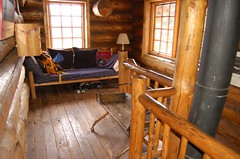 Upstairs in Jay's Hut