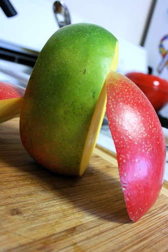 Sliced Mango