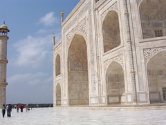 Taj Mahal, India - side view