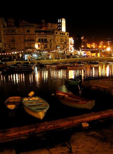 Malta la sera