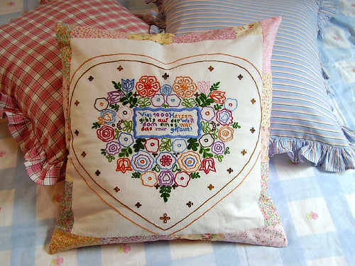 Lovely Heart-Pillow Lieblings-Herz-Kissen