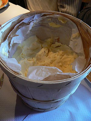Bourriche de beurre