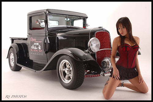 Model Petra With Old Auto