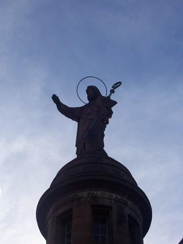 Statue de Sainte-Odile