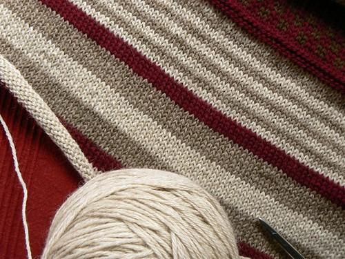 nina shawl WIP
