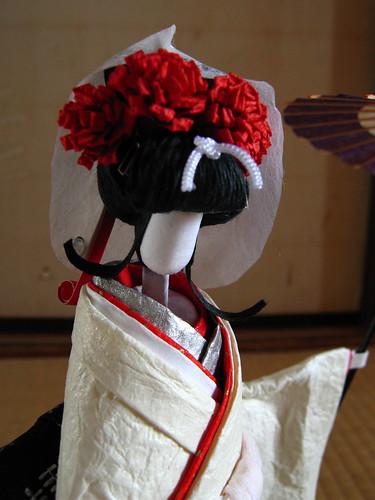 Sagi-musume doll