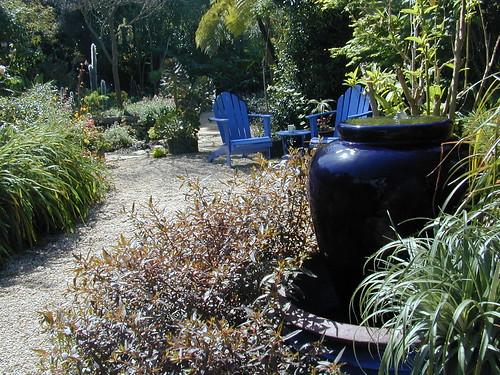 Gravel Entry Garden.