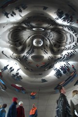 Cloud Gate - Chicago (Sam Rohn - 360 Photography) Tags: chicago reflection architecture photography design photo illinois interesting nikon exterior bean photograph 1224mmf4g recursive millenniumpark cloudgate anishkapoor filmmaking filmproduction scouting filmlocation locationscout filmlocations nikond200 filmscouting samrohn filmscout