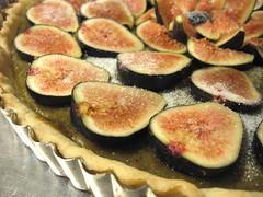 Fresh Fig and Pistachio Frangipane Tart - Unbaked