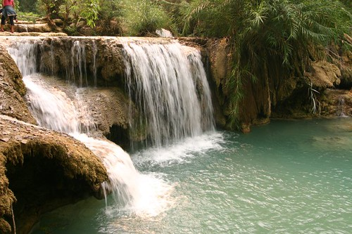 Khouang Xi Waterfalls, Laos...