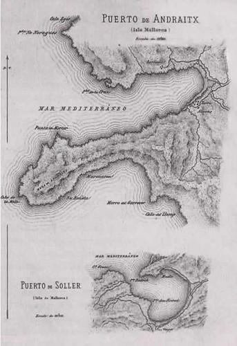 planos puertos de Andratx y S�ller