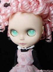 Pinks (Ragazza*) Tags: doll airbrush sbl weft squeakymonkey mademoisellerosebud customblythe momolita blythestudio