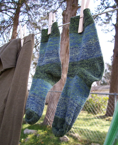 green clothesline