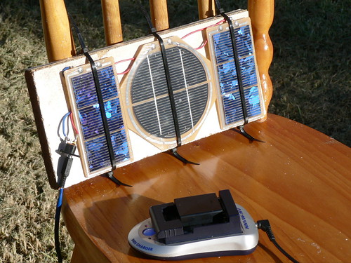 Home-brew Solar Charger