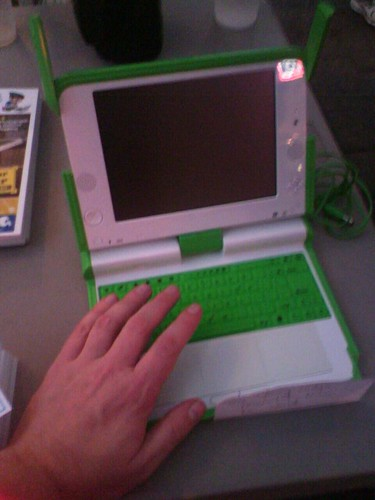 Correction -- *tiny* Laptop...