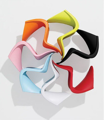 Verner Panton- Junior Panton Chair $149.99USD | Design Verner Panton | powered by tagwerc