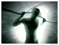 TRANSFORMATION (Hugo Provoste) Tags: light boy man male luz power body illumination hero superhero hombre noli poder tela textil iluminacin hugoprovoste provoste joseluisnoli artlibre ultraselected