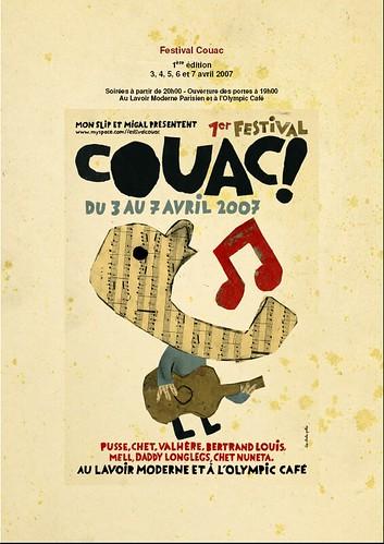 MON SLIP ET MIGALE PROD présentent le 1er festival COUAC 420366578_b47560f3e6
