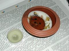 Step 2: fill tea light shell