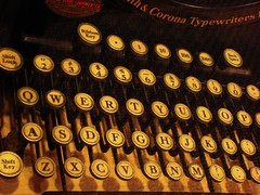 smith & corona (pbo31) Tags: california old winter usa color macro typewriter northerncalifornia keys march display antique library character cities sanjose sanfranciscobayarea font type script southbay santaclaracounty smithandcorona metroplex urbanarea metroliving